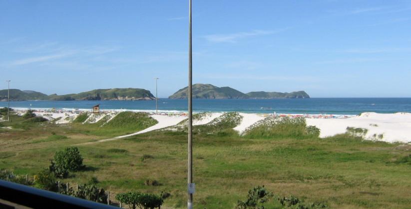 Praia do Forte Cabo Frio – More de frente para o mar